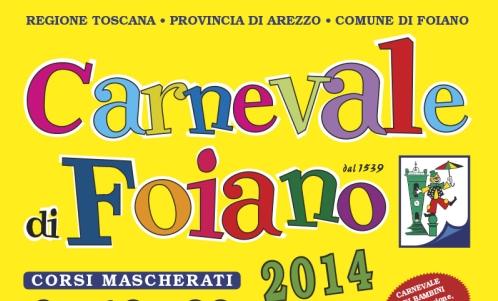 Arezzo: a Foiano della Chiana il Carnevale più antico d'Italia