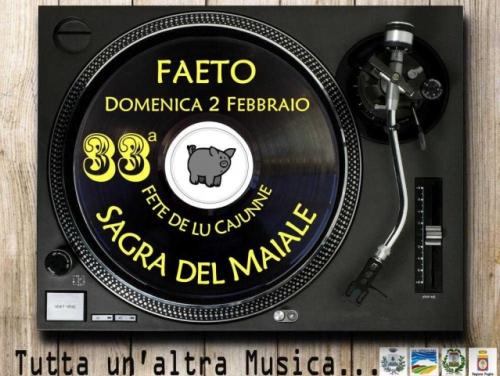 Puglia. A Faeto il 2 febbraio la Sagra del Maiale