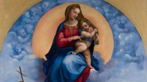 A Foligno esposta la Madonna capolavoro di Raffaello