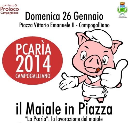"""Modena: """"Maiale in Piazza"""" a Campogalliano"""