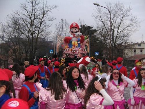Un momento del Carnevale a Nepi
