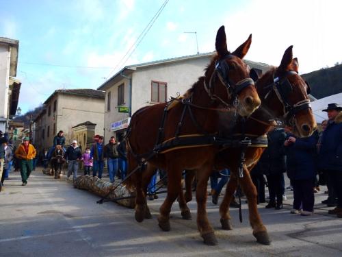 Rieti: a Posta Sant'Antonio si festeggia con la polenta