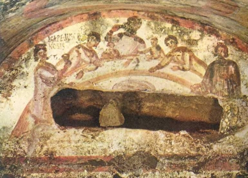 Le catacombe di Pietro e Marcellino a Roma