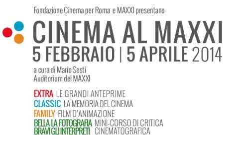 """Dal 5 febbraio al """"Cinema al Maxxi"""" di Roma"""