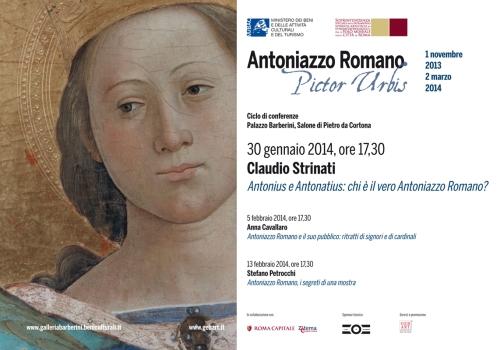 Roma. Mostra Antoniazzo Romano, presentato il ciclo di conferenze