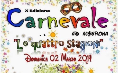 Il 2 marzo il Carnevale Alberonese