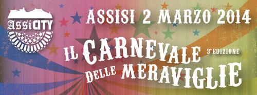 Assisi, il 2 marzo il Carnevale della Meraviglie