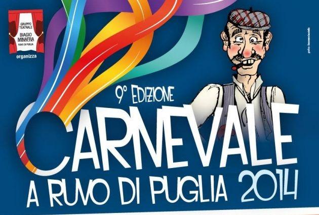 Ruvo di Puglia, ecco il programma del Carnevale 2014