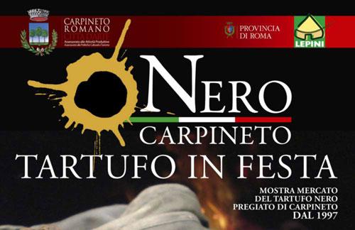 A Carpineto Romano domenica 23 febbraio Tartufo in festa