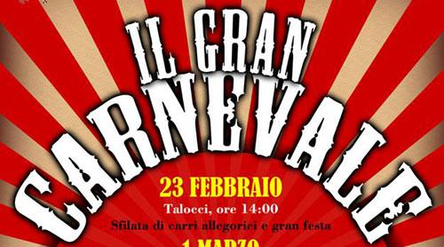 Rieti: arriva il Gran Carnevale di Fara in Sabina