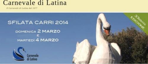 Il programma del Carnevale di Latina