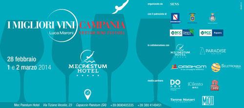 A Paestum si celebrano i migliori vini della Campania