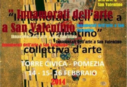 Innamorati dell'arte a San Valentino: mostra a Pomezia
