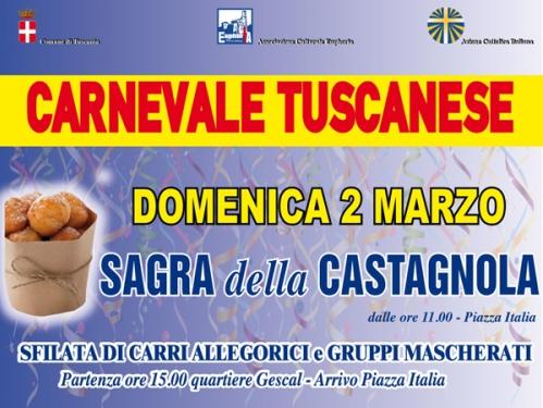 Tuscania. Carnevale, il 2 marzo la Sagra della Castagnola