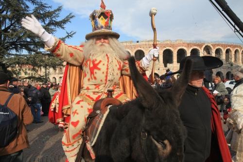 Verona: torna il Carnevale più antico d'Europa