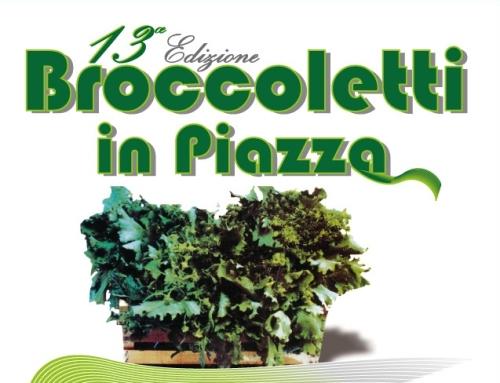 """Il 9 marzo """"Broccoletti in piazza"""" ad Anguillara Sabazia"""