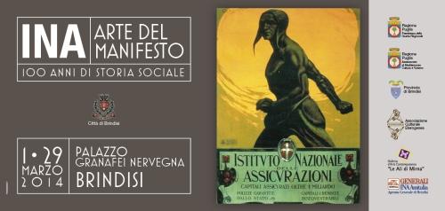 L'Ina e l'arte del manifesto in mostra a Brindisi