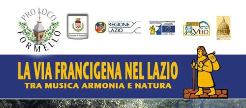 Musica e itinerari sulla Via Francigena del Lazio
