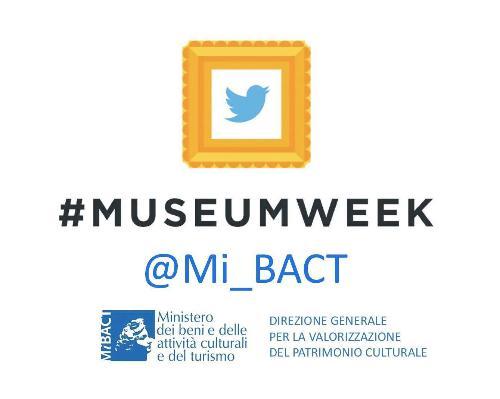 Museum Week, fino al 30 marzo racconta la tua visita su Twitter