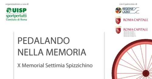 """A Roma il 30 marzo """"Pedalando nella Memoria"""""""
