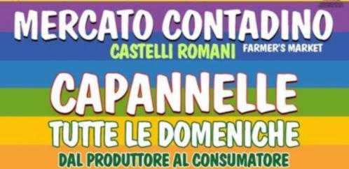 Roma, dal 30 marzo il Mercato Contadino a Capannelle
