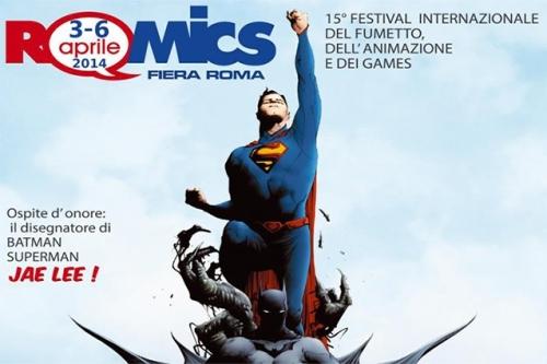 Fumetti. Dal 3 al 6 aprile il Romics alla fiera di Roma