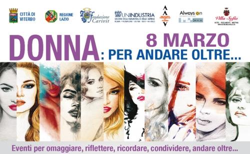 Donne per andare oltre... cartellone di eventi a Viterbo