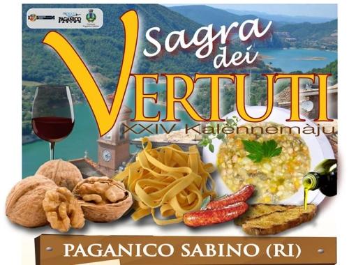 """Primo Maggio in Sabina: antichi riti e piatti tipici alla """"Sagra dei Vertuti"""" di Paganico"""