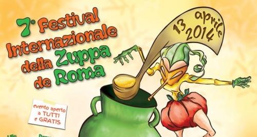 Roma: il 13 aprile c'è il Festival Internazionale della Zuppa
