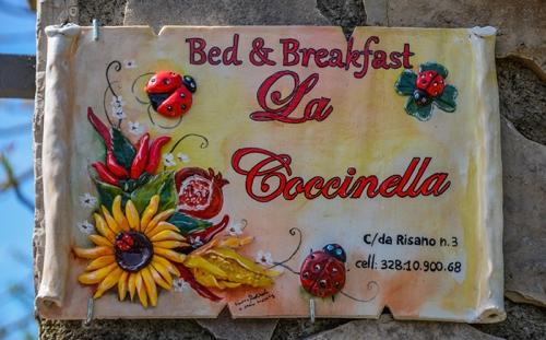 Subiaco. Il B&B La Coccinella aderisce a Italiavirtualtour.it