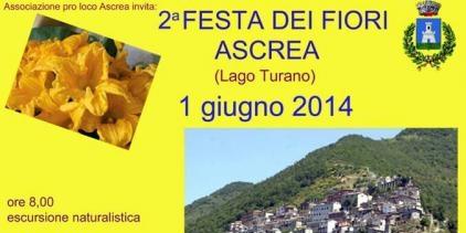 """Lago del Turano: ad Ascrea c'è la """"Festa dei Fiori"""""""