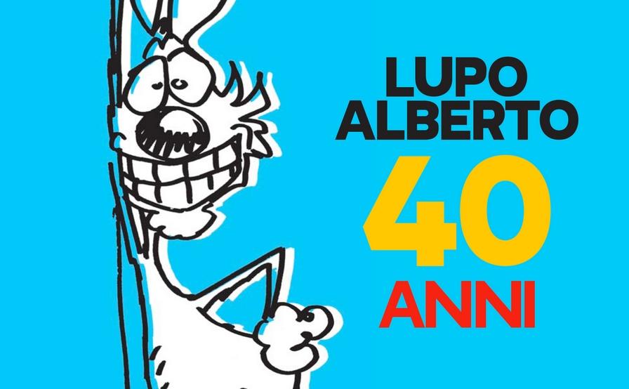 Catania festeggia i 40 anni di Lupo Alberto