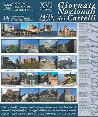 Il 24 e 25 maggio al via le Giornate Nazionali dei Castelli