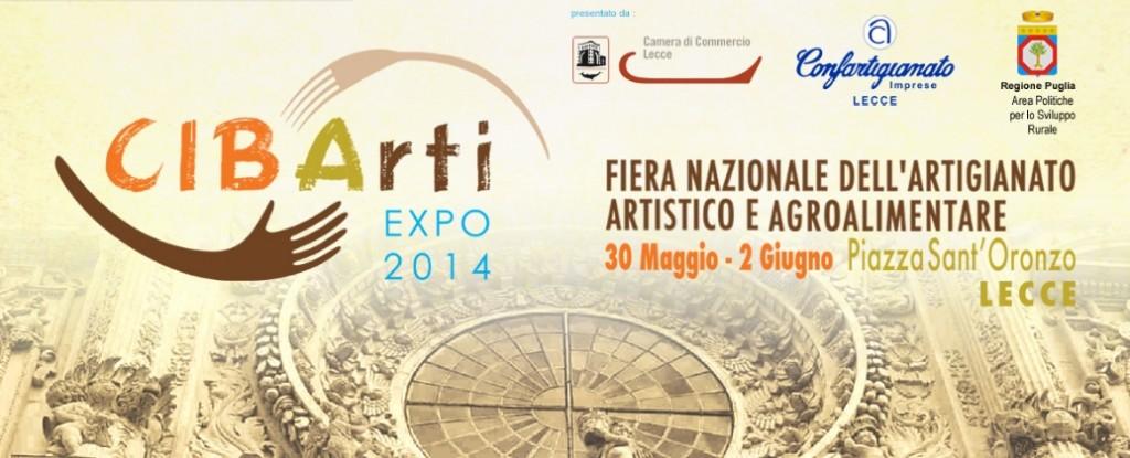 Lecce, dal 30 maggio al 2 giugno Cibarti Expo