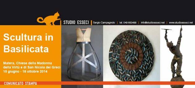 Matera, dal 15 giugno la mostra Scultura in Basilicata