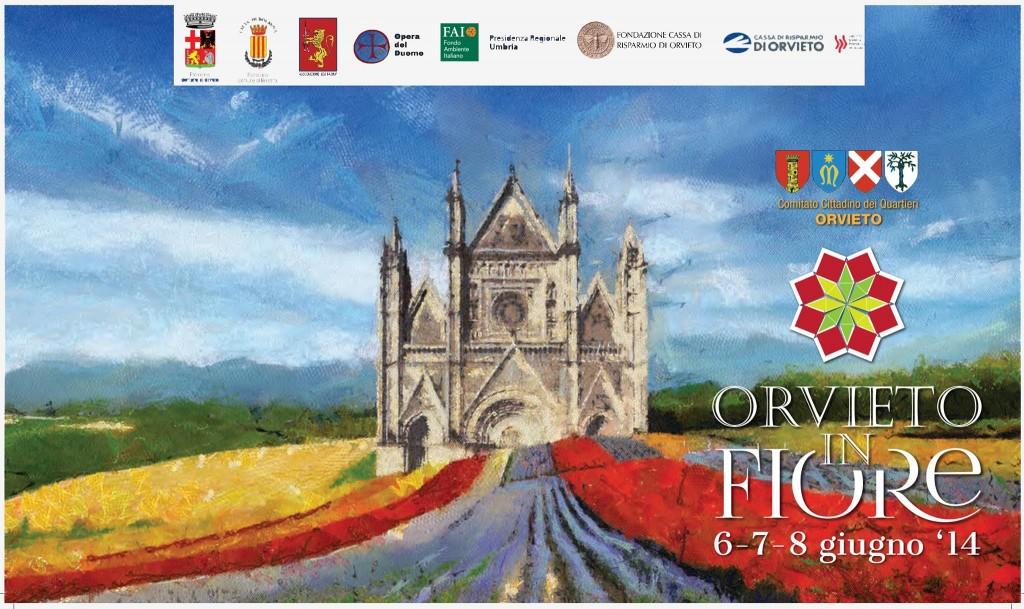 Orvieto, tra Festa della Palombella e fiori