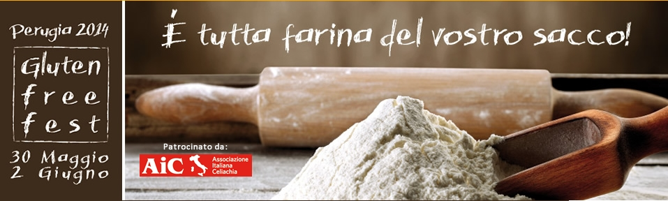 "Perugia ospita il ""Gluten Free Fest"""