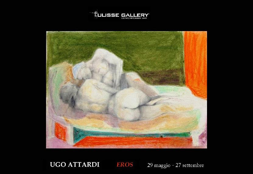 "Roma. Alla Ulisse Gallery la mostra ""Ugo Attardi – Eros"""