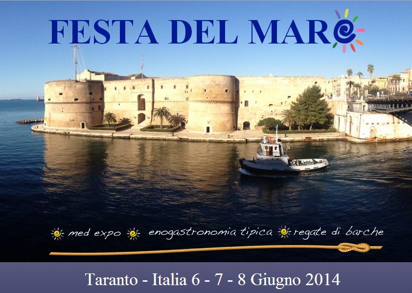 Dal 6 all'8 giugno a Taranto