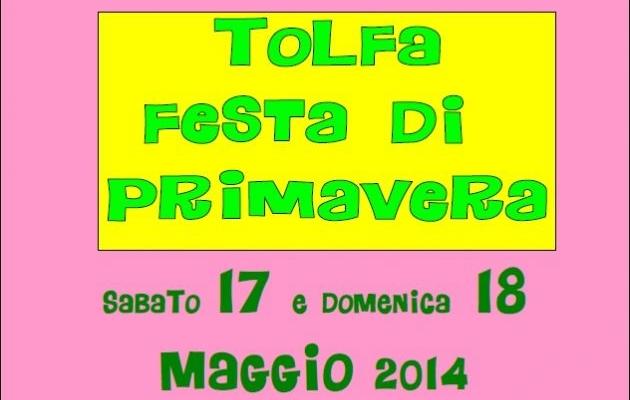 A Tolfa il 17 e 18 maggio la Festa della Primavera