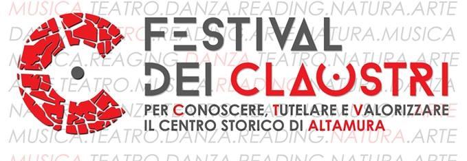 Altamura, il 20 e 21 giugno il Festival dei claustri