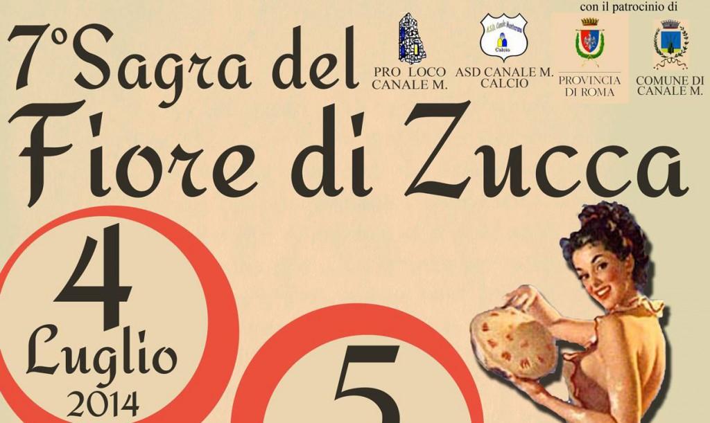 A Canale Monterano dal 4 al 6 luglio la Sagra del Fiore di Zucca