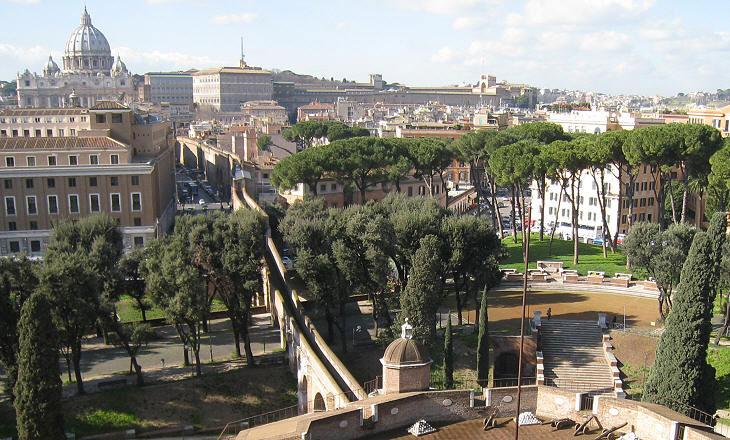 Roma: da luglio nuove aperture straordinarie del Passetto di Castel Sant'Angelo