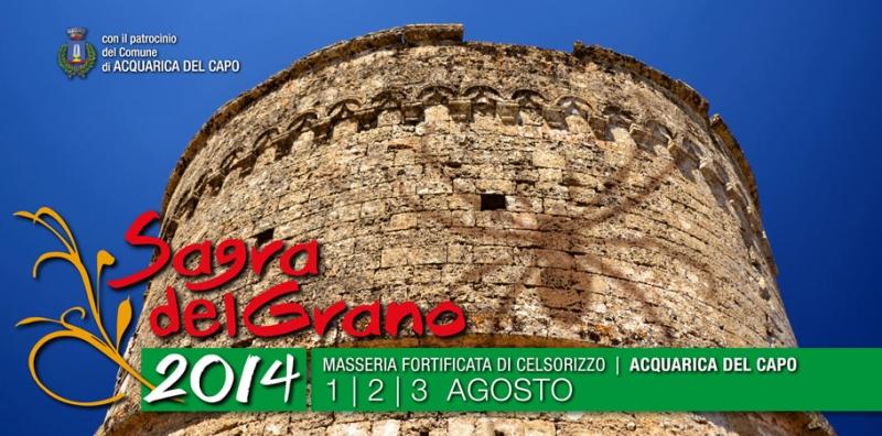 Puglia. Ad Acquarica del Capo la Sagra del Grano