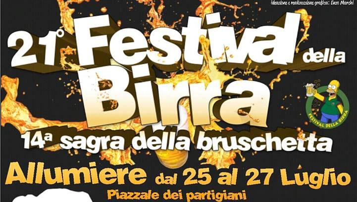 """Birra e bruschetta in """"sagra"""" ad Allumiere"""