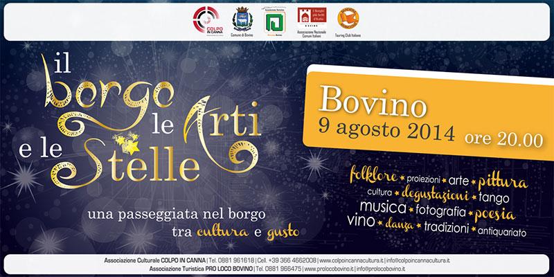 """Bovino, """"Il Borgo, le Arti e le Stelle"""""""