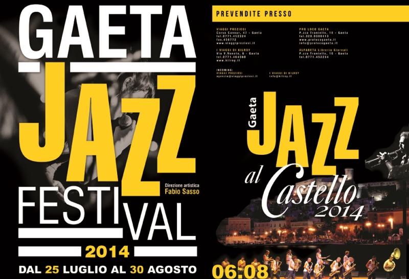 Gaeta Jazz Festival dal 25 luglio al 30 agosto