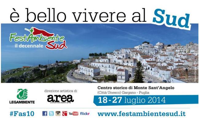 """A Monte Sant'Angelo la decima edizione di """"FestambienteSud"""""""