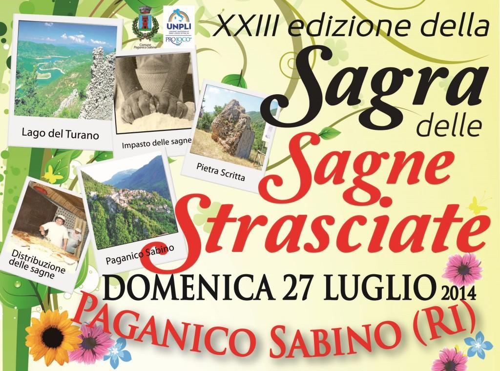 """Lago del Turano: a Paganico Sabino al via la """"Sagra delle Sagne Strasciate"""""""