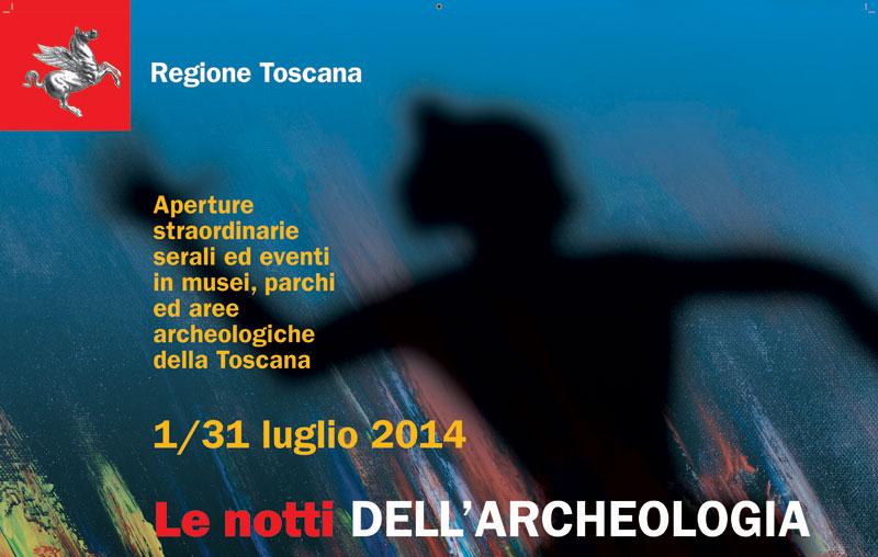 """Toscana: a luglio al via """"Le Notti dell'archeologia"""""""